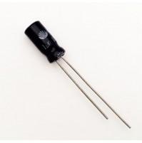 Condensatore Elettrolitico 1uF 100V 85°C Radiale 5x11mm Daewoo (2 pezzi)