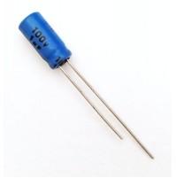 Condensatore Elettrolitico 1uF 100V 85°C Radiale 5x11mm JH (2 pezzi)