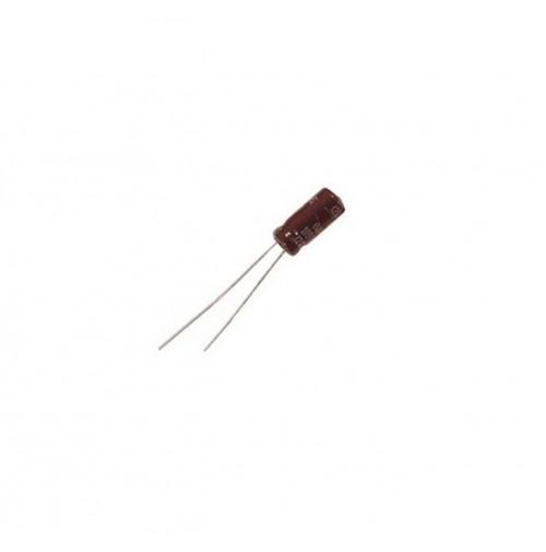 Condensatore Elettrolitico 1uF 63V -25/+105°C Radiale 3 Pezzi