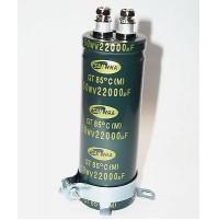 Condensatore Elettrolitico 22000uF 50V a Vite 35x100mm -40/+85°C con Flangia