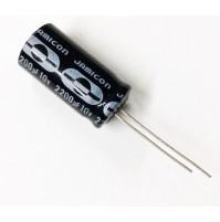 Condensatore Elettrolitico 2200uF 10V 85°C Radiale 13x26mm