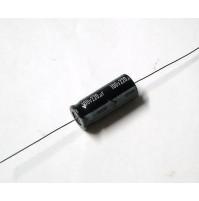 Condensatore Elettrolitico 220uF 100V +85°C Assiale 32x13mm