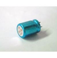 Condensatore Elettrolitico 220uF 25V -40/+85°C Radiale 17x12mm (2 Pezzi)