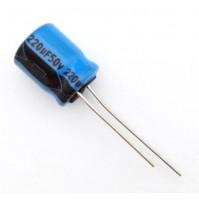 Condensatore Elettrolitico 220uF 50V 85°C Radiale 10x13mm Lelon (2 pezzi)