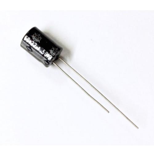 Condensatore Elettrolitico 22uF 50V 85°C Radiale 8x12mm ISKRA (2 pezzi)
