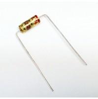 Condensatore Elettrolitico 2,2uF 63V +85°C Assiale