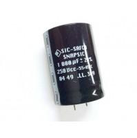 Condensatore Elettrolitico 250V 1000uF snap-in 85°C Ø35x50mm SIC-SAFCO