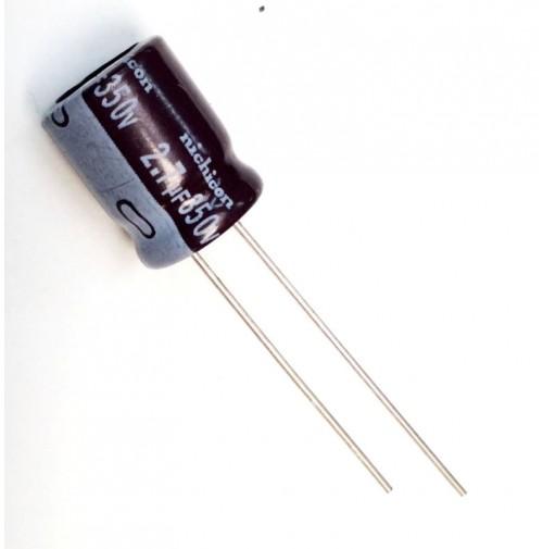 Condensatore Elettrolitico 2,7uF 350V 105°C Rad. 10x13mm Nichicon