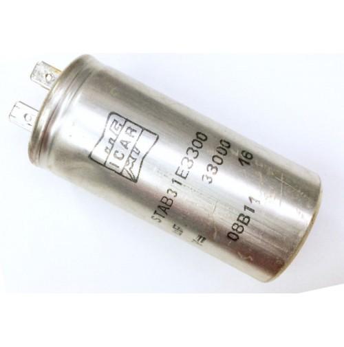Condensatore Elettrolitico 33000uF (0,033 Farad) 16V 85°C Faston ICAR