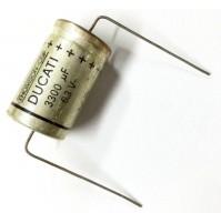 Condensatore Elettrolitico 3300uF 6,3V 85°C Assiale 18x32mm