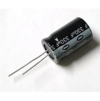 Condensatore Elettrolitico 330uF 100V 85°C Radiale 26x16mm