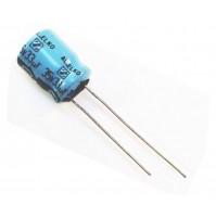 Condensatore Elettrolitico 33uF 35V 85°C Radiale 10x13mm AL.ELKO (2 pezzi)
