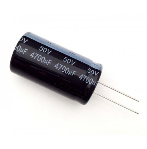 Condensatore Elettrolitico 4700uF 50V 85°C Radiale 23x42mm Nantung
