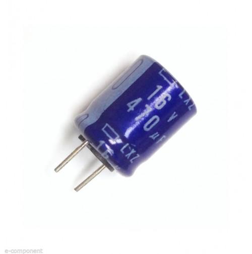 Condensatore Elettrolitico 470uF 16V 105°C Radiale 10x13mm United Chemi-com 2 Pz