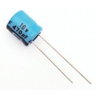 Condensatore Elettrolitico 470uF 16V 85°C Radiale 10x13mm JH