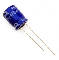Condensatore Elettrolitico 470uF 25V 85°C Radiale Ø10x12mm RM