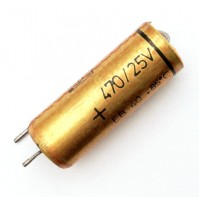 Condensatore Elettrolitico 470uF 25V 85°C Radiale 10x27mm
