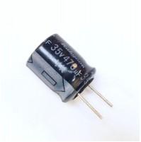 Condensatore Elettrolitico 470uF 35V 85°C Radiale 10x12mm Rubycon
