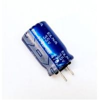 Condensatore Elettrolitico 470uF 35V 85°C Radiale 10x17mm ELNA
