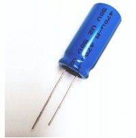 Condensatore Elettrolitico 470uF 50V 105°C Radiale 13x26mm BC