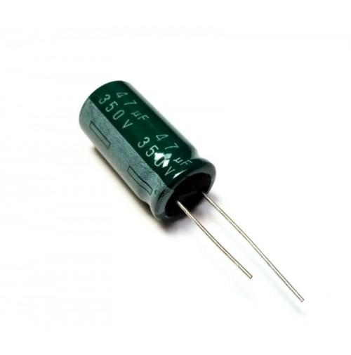 Condensatore Elettrolitico 47uF 350V 85°C Ø16x32mm Radiale SAMSUNG