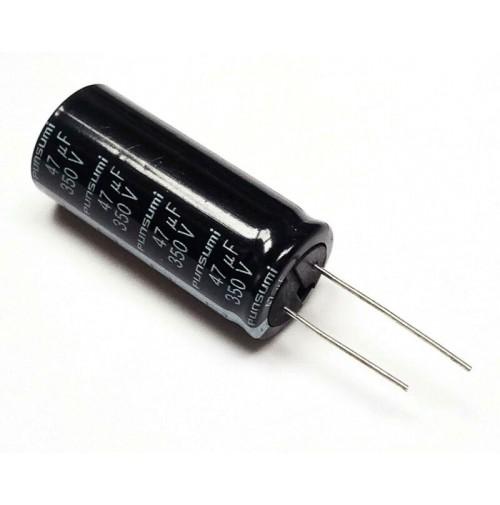 Condensatore Elettrolitico 47uF 350V 85°C Ø18x42mm Radiale PUNSUMI