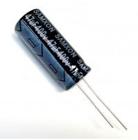 Condensatore Elettrolitico 47uF 400V +105°C Ø13x31mm Radiale SAMXON