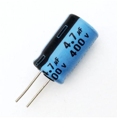 Condensatore Elettrolitico 4,7uF 400V 105°C Radiale Ø10x20mm Arcotronics