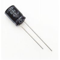 Condensatore Elettrolitico 47uF 63V 85°C Radiale 8x11mm SME Nichicon (2 pezzi)