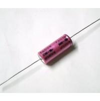Condensatore Elettrolitico 820uF 16V +85°C Assiale 32x13mm