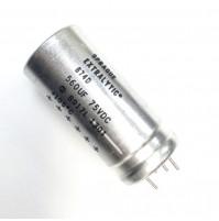Condensatore Elettrolitico Corazzato 560uF 75V 105°C Sprague