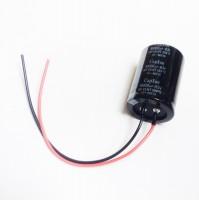 Condensatore Elettrolitico SNAP IN 10000uF 63V 105°C 35x52 con 2 fili rosso/nero