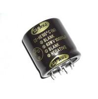 Condensatore Elettrolitico SNAP IN 10000uF 63V 105°C SAMWHA 4pins