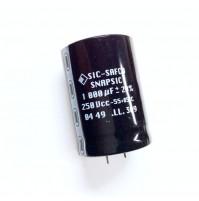 Condensatore Elettrolitico SNAP-IN 1000uF 250V 85°C Ø35x50mm SIC-SAFCO