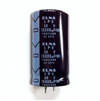 Condensatore Elettrolitico SNAP-IN 15000uF 50V 85°C LP5 30x50mm ELNA