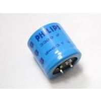 Condensatore Elettrolitico SNAP IN 3300uF 63V -40/+85°C PHILIPS