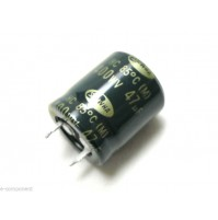 Condensatore Elettrolitico SNAP IN 47uF 400V -25/+85°C 22x25mm SAMWHA