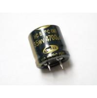 Condensatore Elettrolitico Snap-in 4700uF 35V 85°C