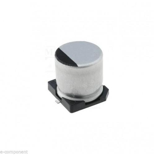 Condensatore Elettrolitico in SMD 10uF 16V dimensioni: 4.0x5.3mm (4 Pezzi)