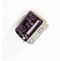 Condensatore Elettrolitico snap-in 4700uF 35V 105°C Radiale 26x27mm