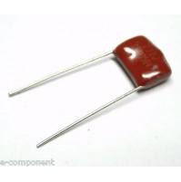 Condensatore a film poliestere 2700pF (2,7nF) 1250Vdc (1,25Kv) passo 10mm