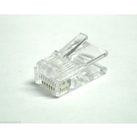 Connettore RJ45 Spina 8 pin a crimpare