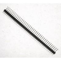 Connettore strip 90 gradi singola fila 40 pin per PCB