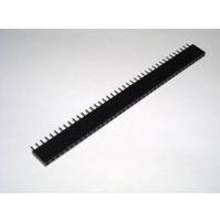 Connettore strip Femmina diritto 40 pins passo 2.54mm