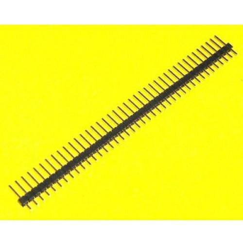 Connettore strip diritto singola fila 40 poli per PCB (2 PEZZI)
