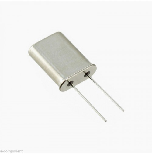 Crystal Quarz 2,5 MHz case: HC-49U Quarzo Passo 5mm