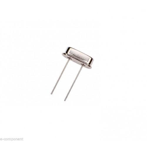 Crystal Quarz 4 MHz case: HC-49S Quarzo Passo 5mm