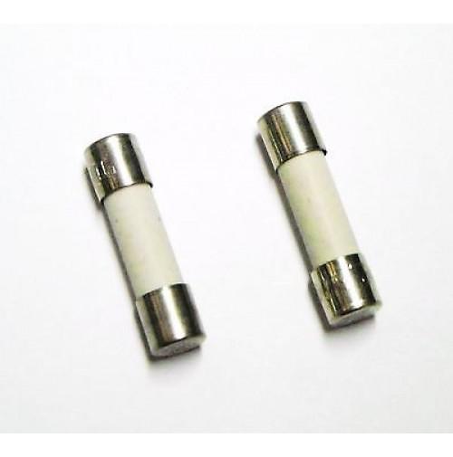 FUSIBILE CERAMICO RAPIDO TIPO F 1,6A 250V 5x20mm (confezione di 2 fusibili)