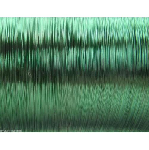 Filo di Rame Smaltato Verde Saldabile per elettronica 0,25mm (5 Metri)