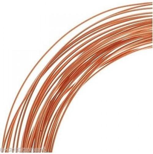 Filo di Rame Smaltato per elettronica 0,06mm - lunghezza 5 Metri